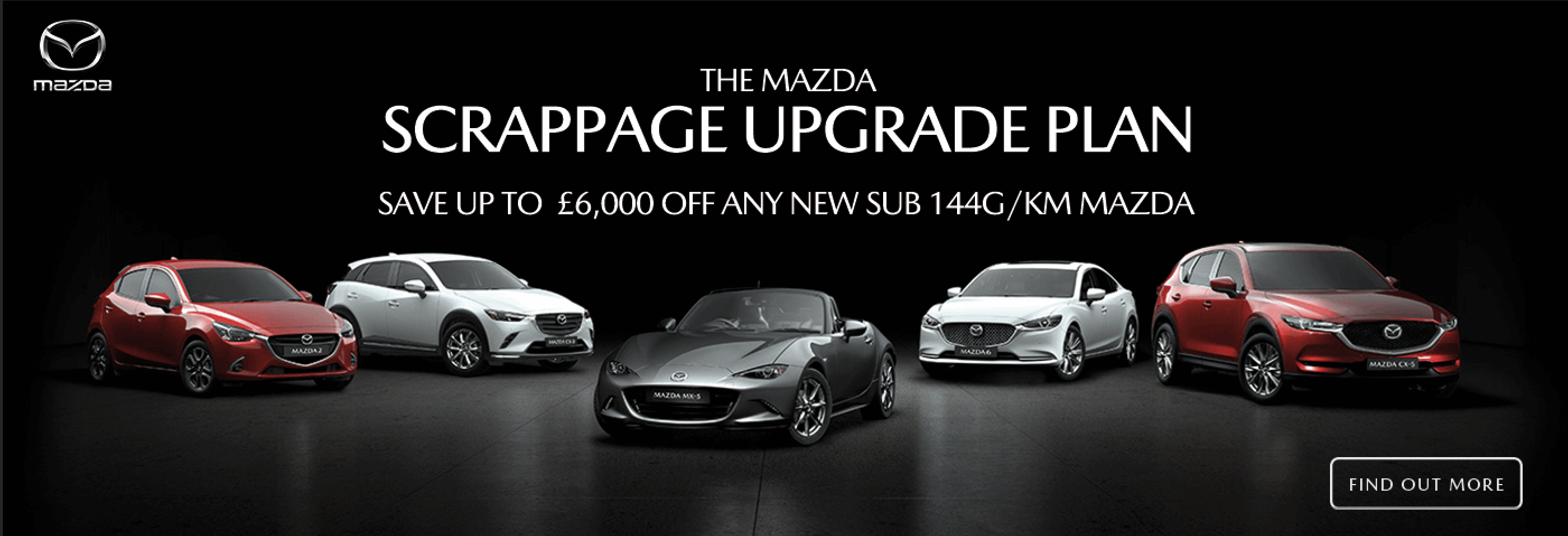 mazda scrappage upgrade plan